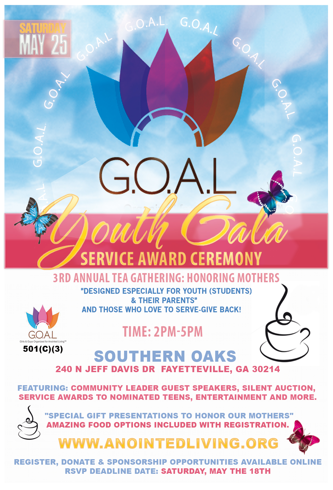 GOAL Youth Gala Front