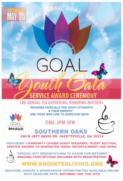 GOAL Youth Gala Flyer Front